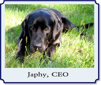 Japhy, our late CEO